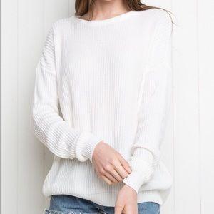 Brandy Melville White Sweater